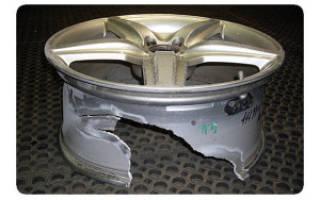 Как отреставрировать литые диски своими руками?