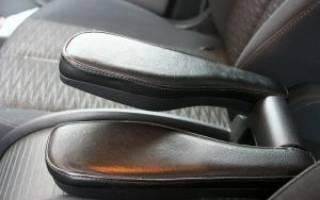 Как сделать подлокотник в машину своими руками?