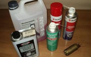 Какая присадка для очистки форсунок лучше?
