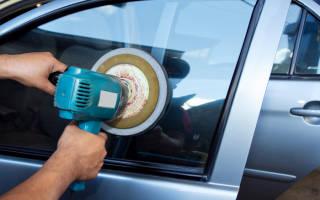 Как отполировать стекло на машине своими руками?