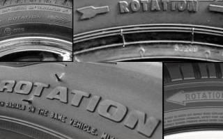Как определить сторону шины?