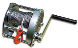 Как сделать электролебедку своими руками?