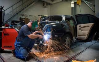 Как заварить днище автомобиля своими руками?