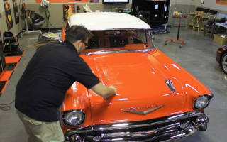 Как зашпаклевать и покрасить машину?