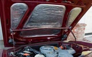 Чем можно утеплить двигатель автомобиля своими руками?