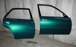 Как покрасить дверь автомобиля своими руками?