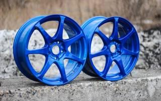 Чем красить диски авто своими руками?
