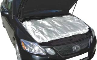 Как утеплить радиатор автомобиля своими руками?