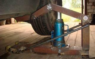 Как сделать подъемник для двигателя своими руками?