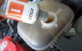 Как правильно промыть систему охлаждения двигателя?