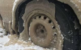 Примерзло заднее колесо что делать?