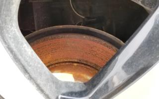 Ржавеют диски на колесах что делать?