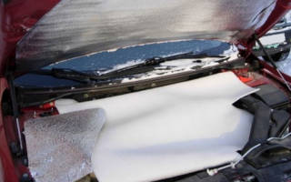 Как утеплить двигатель на зиму своими руками?