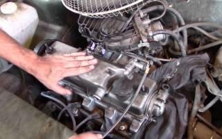 Какой то стук при работе двигателя?