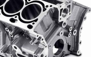 Из чего делают блок цилиндров двигателя?