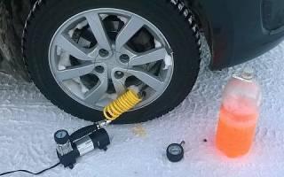 Какое давление качать в зимние шины?