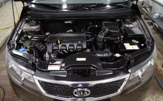 Чем смыть моторное масло с двигателя?