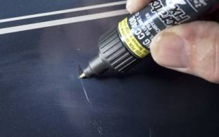 Как заделать царапину на бампере своими руками?