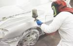 Как правильно покрасить крыло автомобиля своими руками?