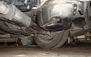 Пробил поддон двигателя что делать?