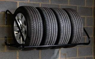Как хранить летние шины?