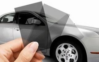 Какие бывают тонировки на машину?