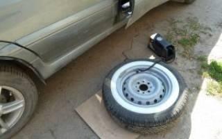 Спускает колесо на машине что делать?