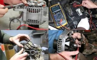 Сломался генератор в машине что делать?