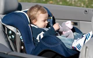 Как правильно установить автокресло в машину?