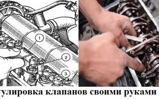 Для чего нужна регулировка клапанов двигателя?