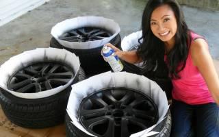 Как покрасить колесные диски своими руками?