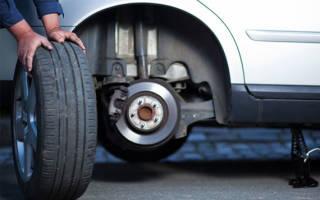 Как правильно ставить зимние шины?