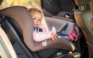 Как крепятся детские автокресла в машину?