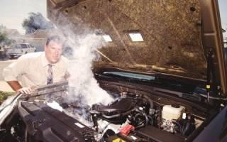Какие признаки перегрева двигателя?