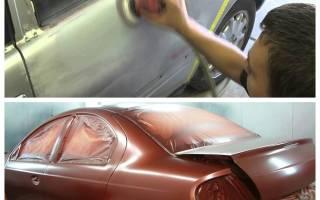 Как покрасить машину с баллончика своими руками?
