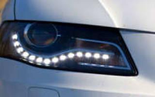 Как подключить дневные ходовые огни на машину?