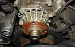 Как проверить помпу не снимая с двигателя?