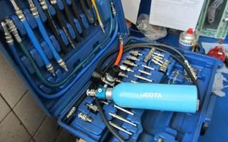 Как очистить форсунки бензинового двигателя?