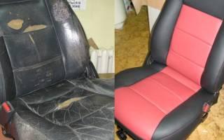 Как перешить сиденья автомобиля своими руками?