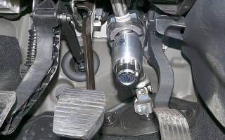 Блокираторы рулевого вала какой лучше?