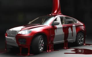 Как правильно красить машину?