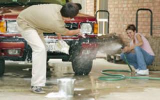 Чем и как нужно мыть новую машину?